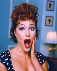 gillian anderson as lucille ball 1